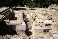 Ausgrabung in Knossos
